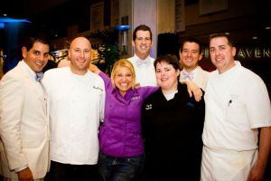 Top Chefs at the Hope Gala