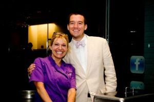 Top Chef Betty Fraser and Myself at the 2011 ACS Hope Gala
