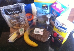 Bananas Foster German Pancake Ingredients