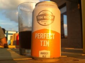 Tin Roof Beer at Company Burger