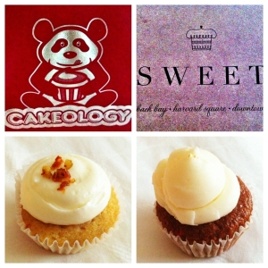 Cakeology's Carrot vs. Sweet's Organic Karat