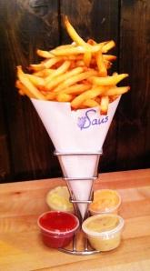 Fries at Saus