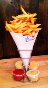 Fries at Saus