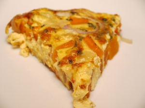 A Slice of Butternut Squash Frittata