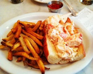 Lobster Roll at Neptune Oyster