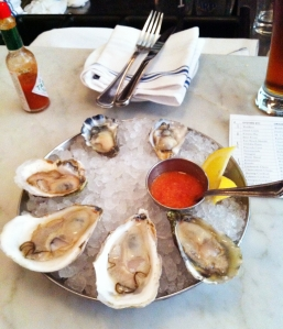 Oysters at Neptune Oyster