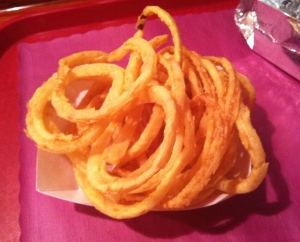 UBurger Onion Rings
