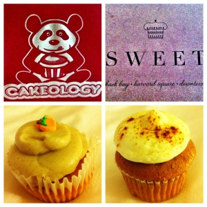 Cakeology's Pumpkin Spice vs. Sweet's Pumpkin Pie