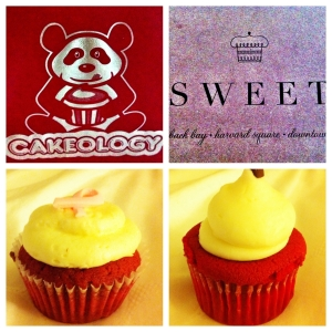 Cakeology's Red Velvet vs. Sweet's Red Velvet