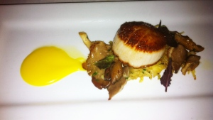 Seared Dayboat Scallops