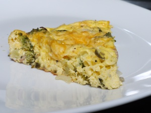 Bacon, Broccoli and Jalapeño Frittata