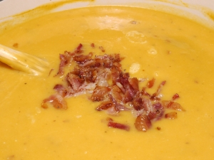 Bacon in Butternut Squash