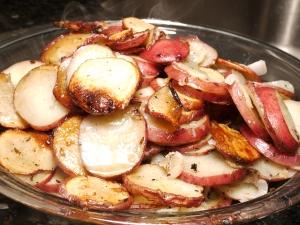 Duck-Fat Potato Galette