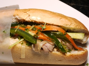 Chicken Thigh Banh Mi