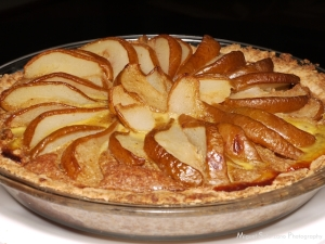 Brown Butter Pear Tart
