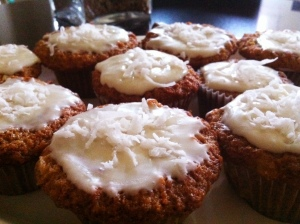 Loaded Carrot Cupcakes