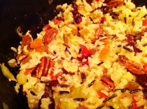 Wild Rice, Fruit and Pecan Stuffing