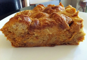 Pumpkin-Kahlua Bread Pudding