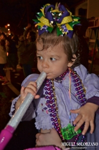 Averie Bug at Mardi Gras