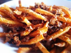 Capdeville's Chorizo and Manchego Fries