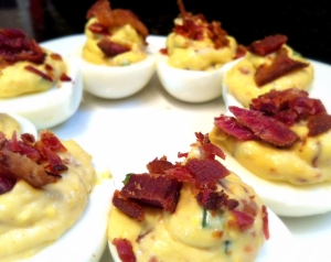 Bacon-Jalapeño Deviled Eggs