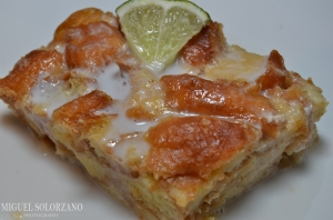 Key Lime Bread Pudding