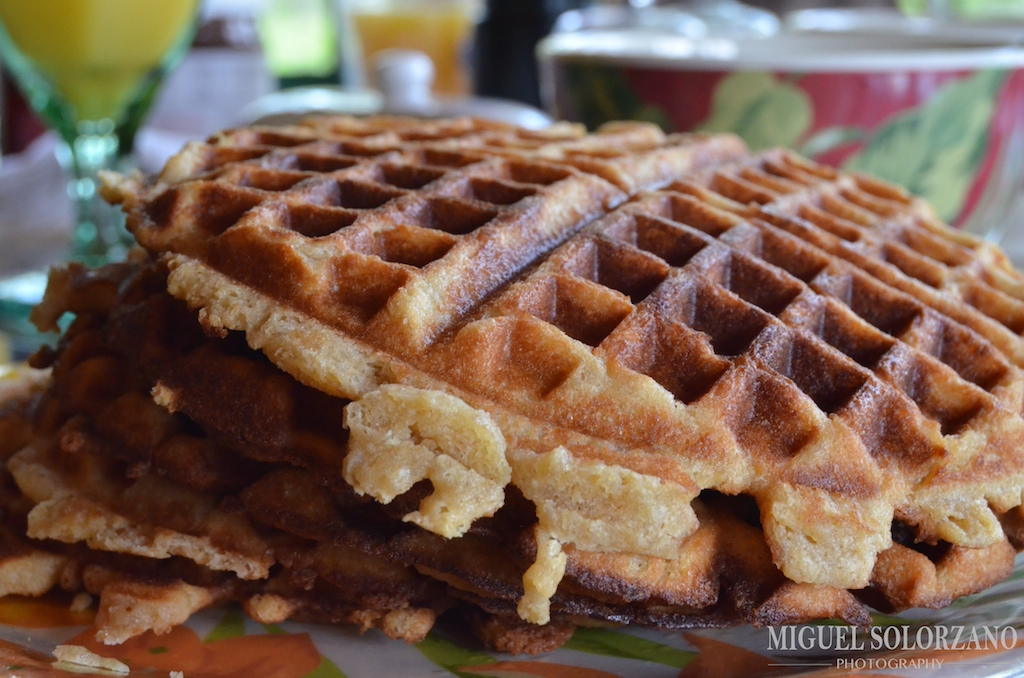 Recipe: Liège Waffles | Po' Boy Livin' Rich