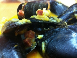 Mussels from Roosterfish