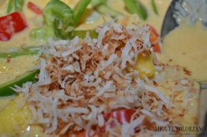 Toasted Coconut in Curry
