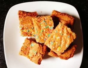 Funfetti Blondies