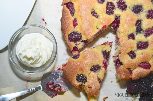 Recipe: Blackberry Buttermilk Cake | Po' Boy Livin' Rich