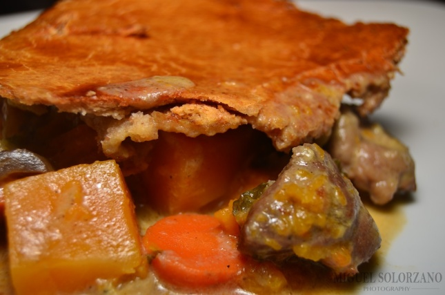 Curried Leg of Lamb Pot Pie