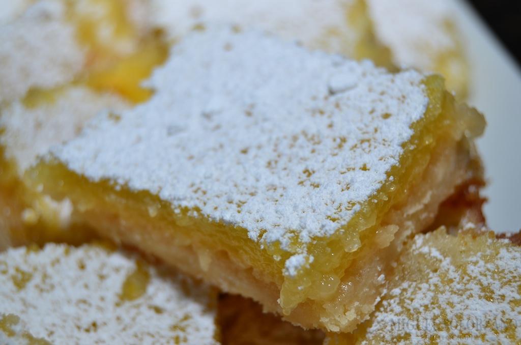 Recipe: Meyer Lemon Squares | Po' Boy Livin' Rich