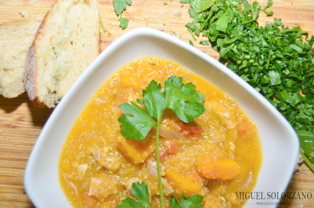 Butternut Squash, Chicken and Quinoa Stew