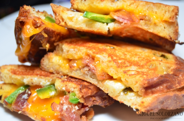Jalapeño Popper Grilled Cheese Sandwiches